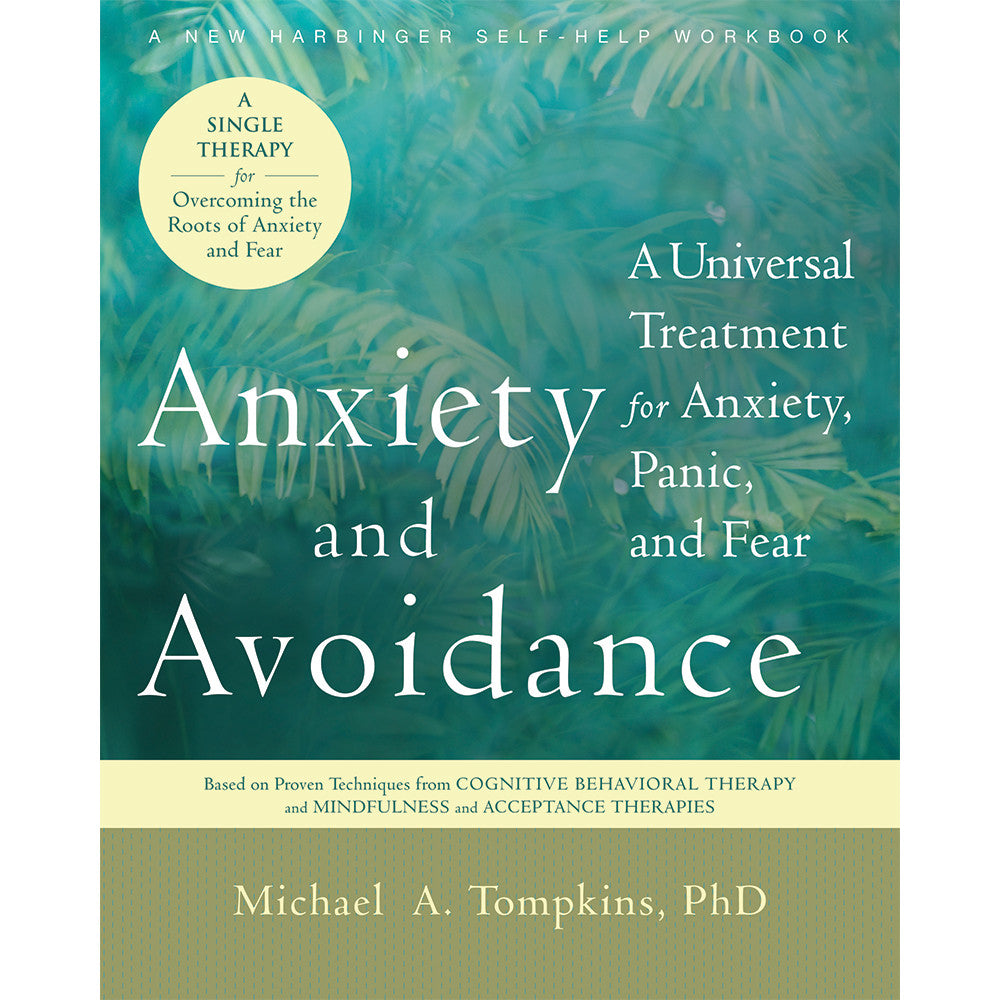 Anxiety and Avoidance Book product image