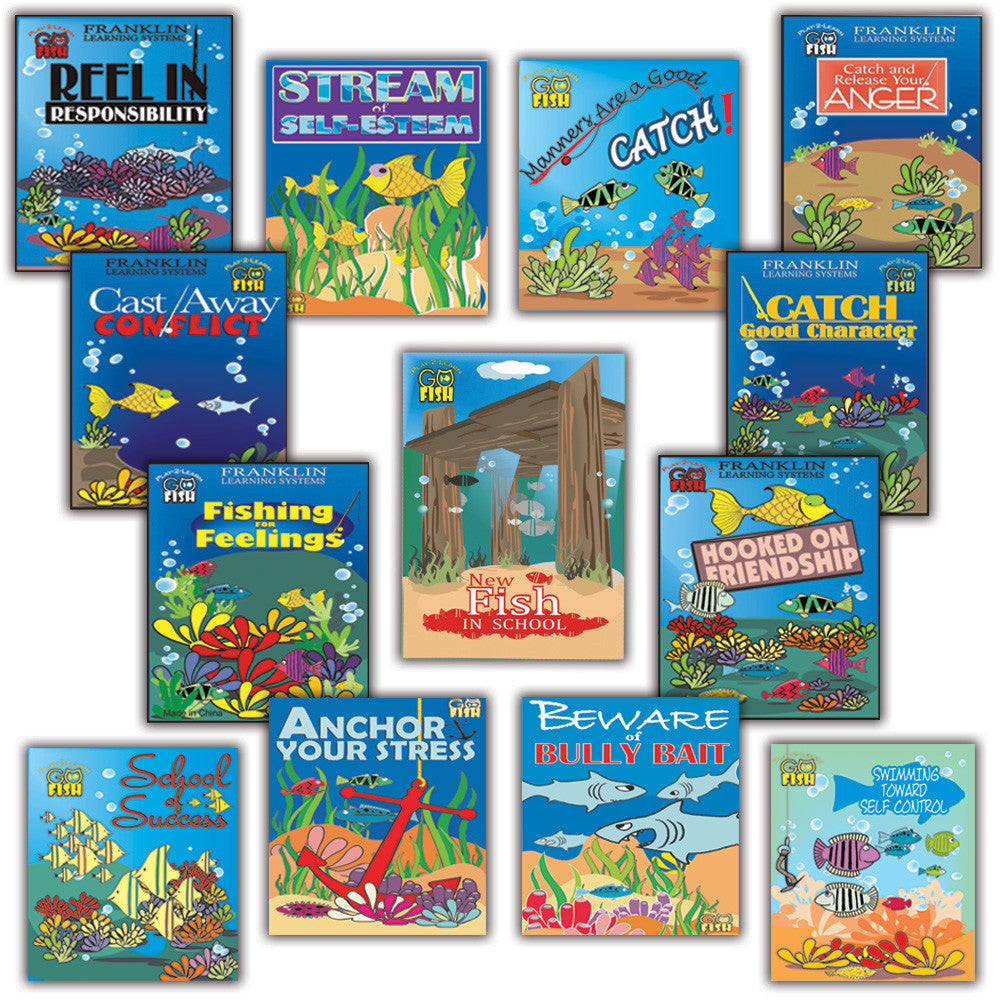 Play 2 Learn Go Fish: Set of 13 Card Games