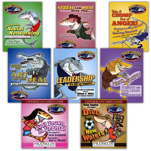 Smart Sharks Set of 8 Card Games product image