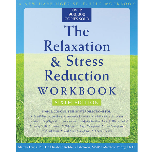 Relaxation & Stress Reduction Workbook & CDs