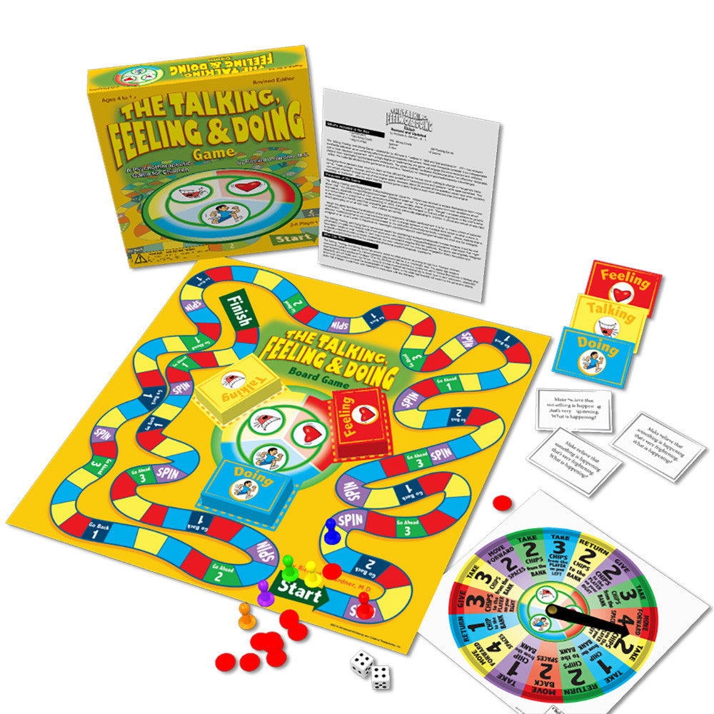 The Talking, Feeling & Doing Board Game product image