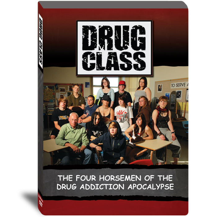 Drug Class: The Four Horsman of the Drug Addiction Apocalypse DVD product image