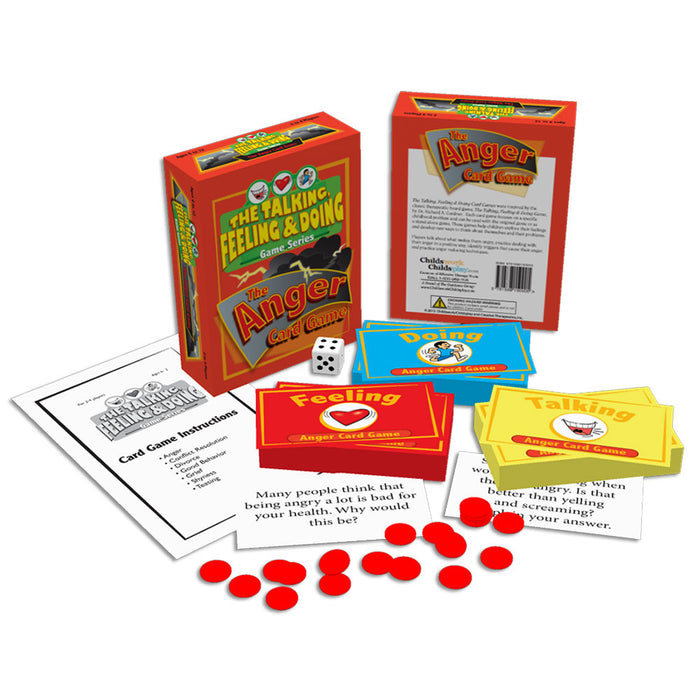 The Talking, Feeling & Doing Anger Card Game product image