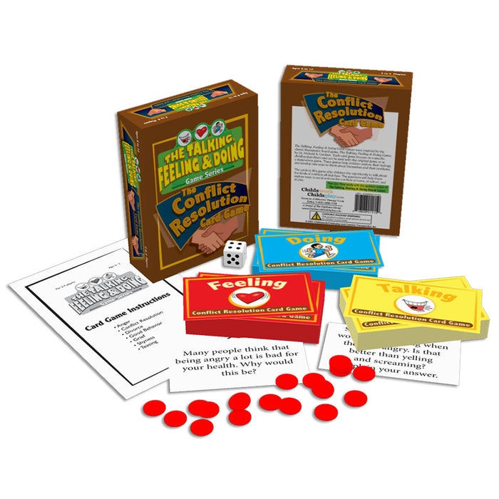 The Talking, Feeling & Doing Conflict Resolution Card Game product image