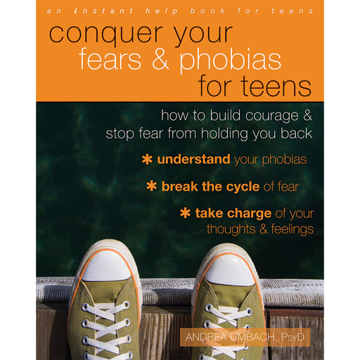 Conquer Your Fears and Phobias for Teens Workbook product image