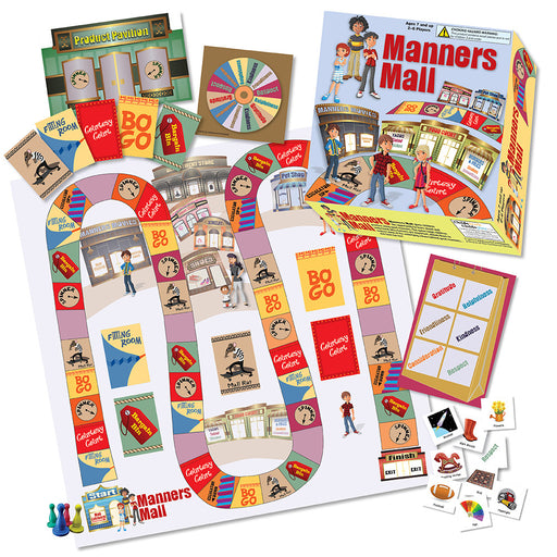 Manners Mall Board Game product image