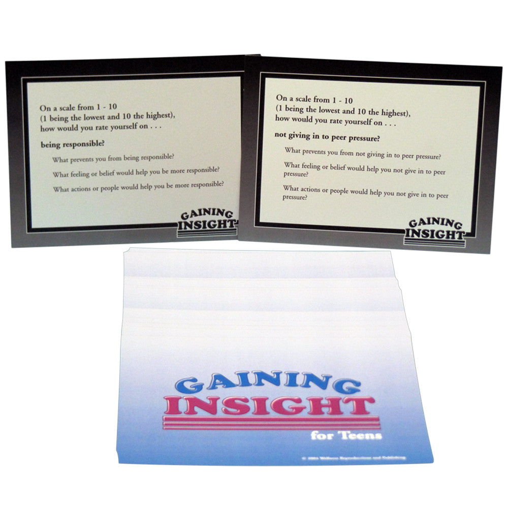 Gaining Insight for Teens Cards product image