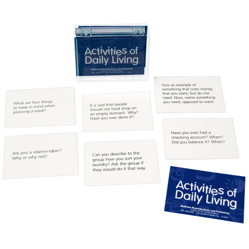 Activites of Daily Living Cards for Adults product image