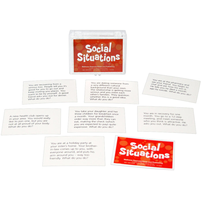 Social Situations Cards for Adults product image