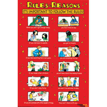 Rules & Reasons Poster product image