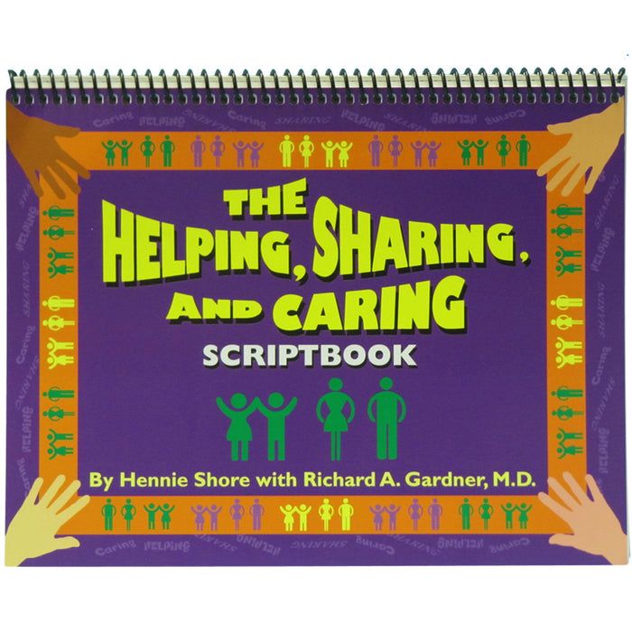 Helping Sharing Caring Scriptbook product image