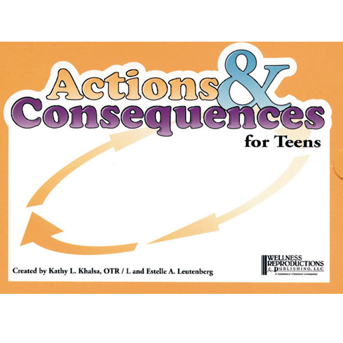 Actions and Consequences Card Game for Teens product image