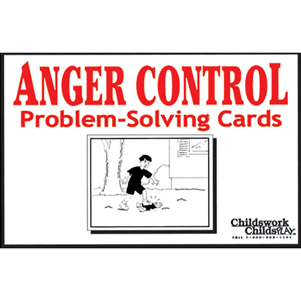 Anger Control Problem Solving Cards product image