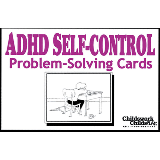 ADHD Self Control Problem Solving Cards product image