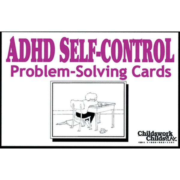 ADHD Self-Control With Problem-Solving Cards Childswork