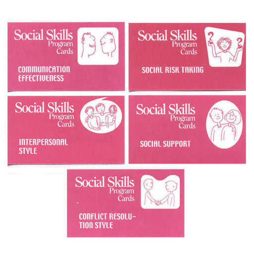 The Social Skills Program Cards product image