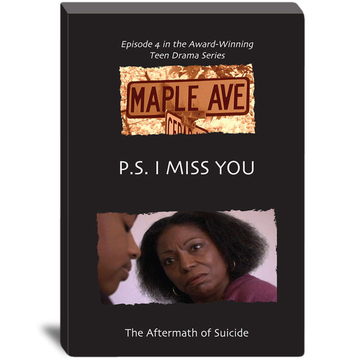 Maple Ave   P.S. I Miss You: The Aftermath of Suicide DVD product image