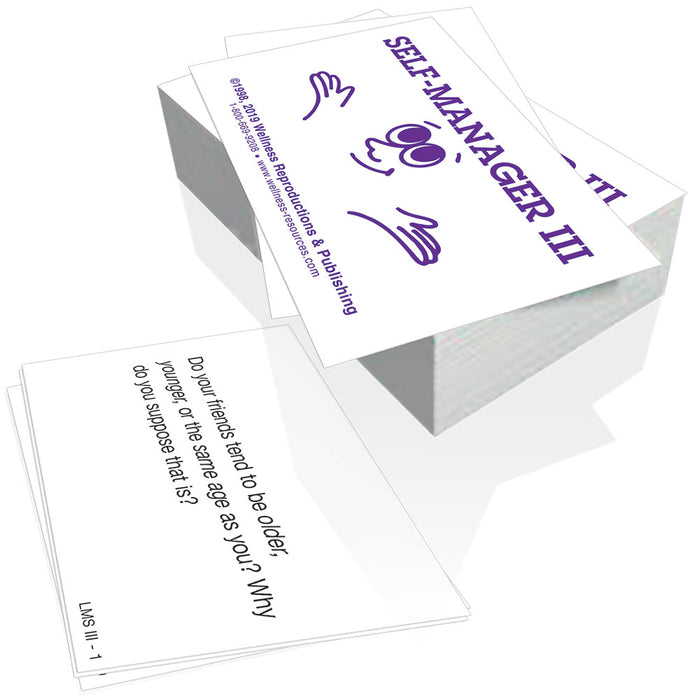 Life Management Skills III Cards