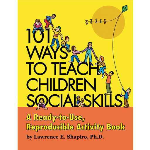 101 Ways to Teach Children Social Skills Book with CD product image