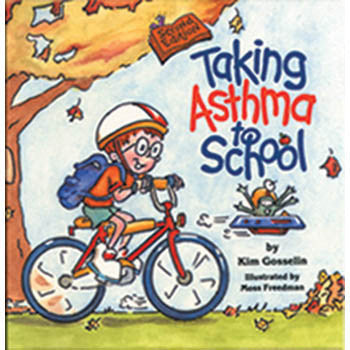 Taking Asthma to School Book product image