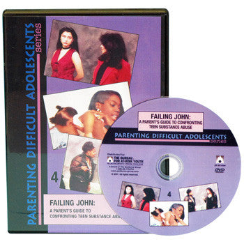 Failing John: A Parent's Guide to Confronting Teen Substance Abuse DVD product image