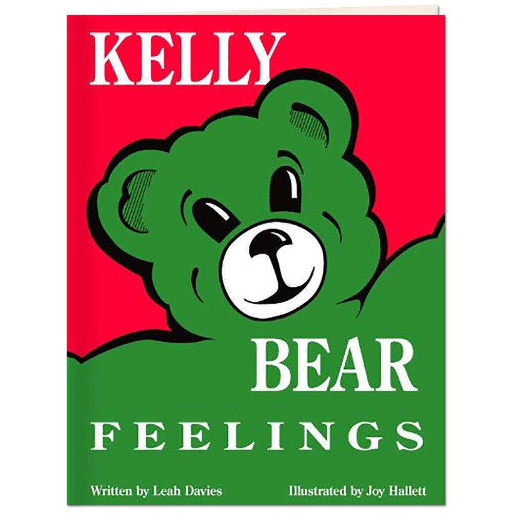 Kelly Bear Feelings Book