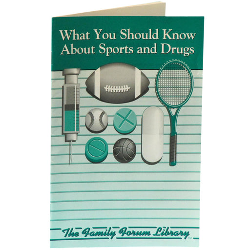 Family Forum Booklet: What You Should Know About Sports and Drugs 25 pack product image