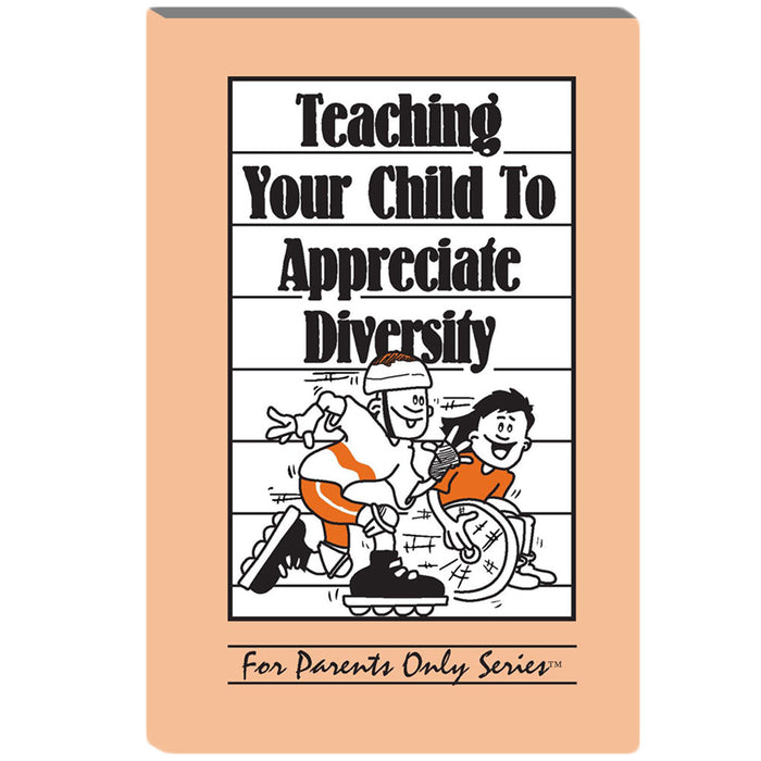 Teaching Your Child to Appreciate Diversity For Parents Only Booklet 25 pack product image