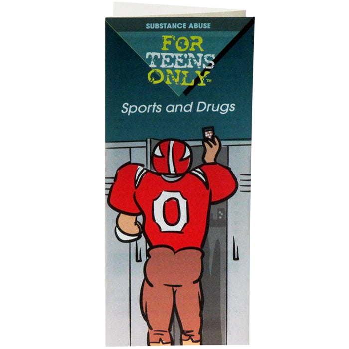 For Teens Only Pamphlet: Sports and Drugs 25 pack product image