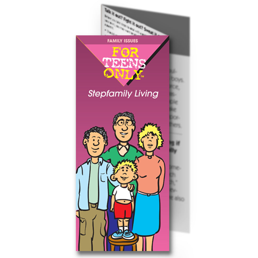 For Teens Only Pamphlet: Stepfamily Living 25 pack product image