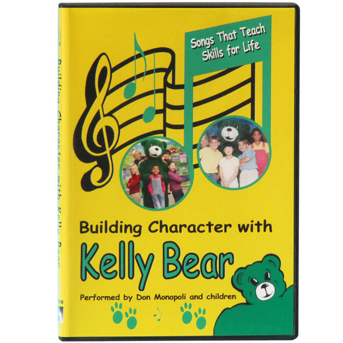 Building Character with Kelly Bear 29 Song Audio CD product image