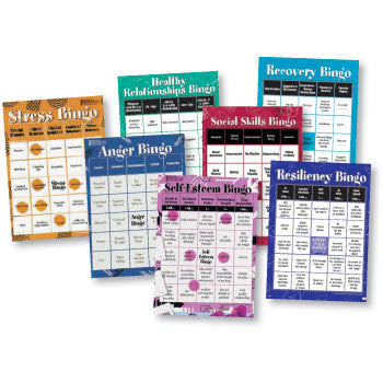 Bingo Games for Therapy & Counseling - Adults