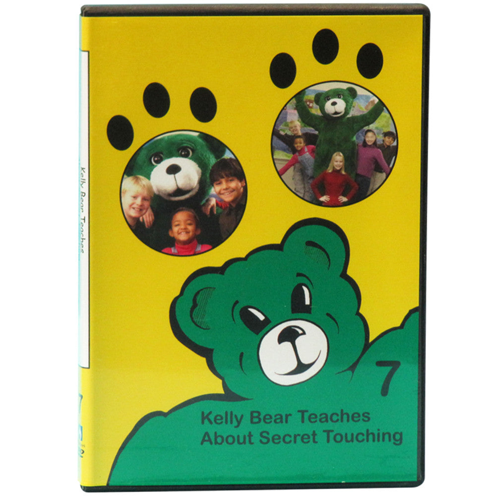 Kelly Bear Teaches About Secret Touching DVD product image