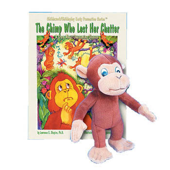 The Chimp Who Lost Her Chatter Book & Plush Chimp product image