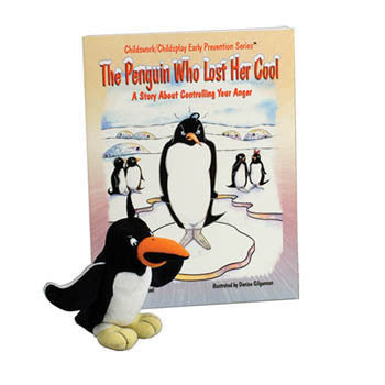 The Penguin Who Lost Her Cool Book & Plush Penguin product image