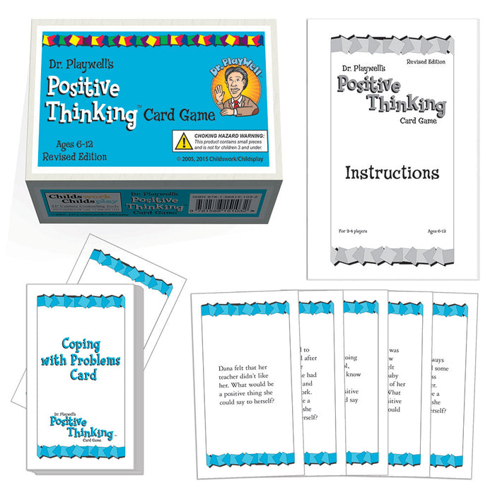 Dr. Playwell's Positive Thinking Card Game