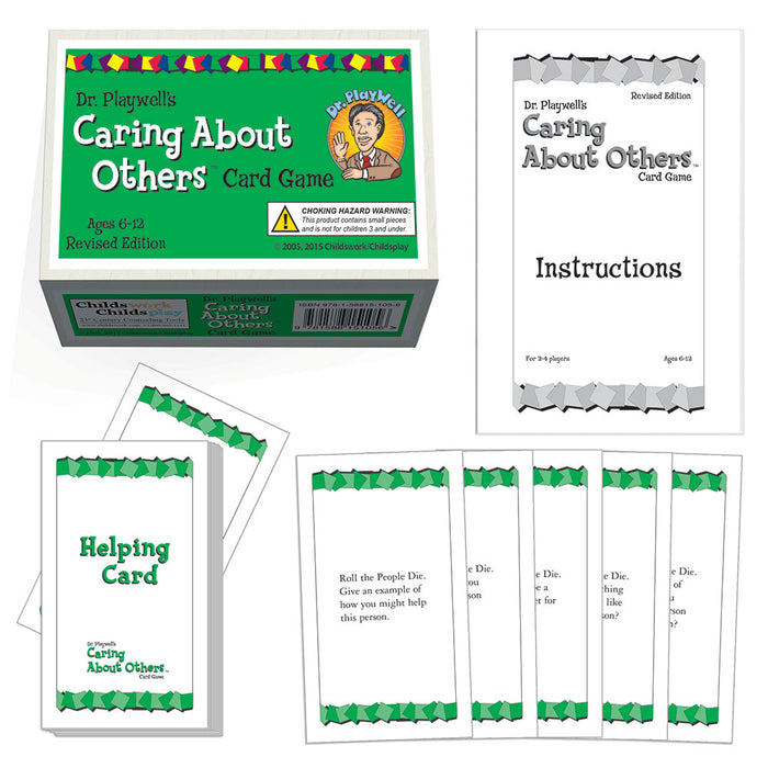 Dr. PlayWell's Caring About Others Card Game