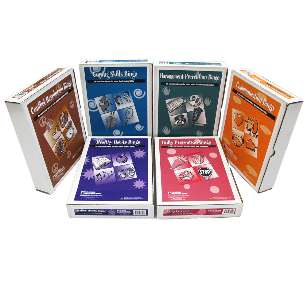 Middle School Bingo Games Series Set of 6 product image