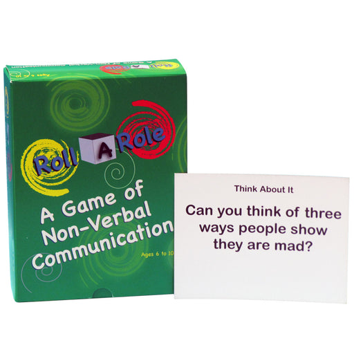 Roll A Role: A Game of Non Verbal Communication Cards Only product image