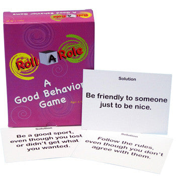 Roll A Role: A Good Behavior Game Cards Only product image
