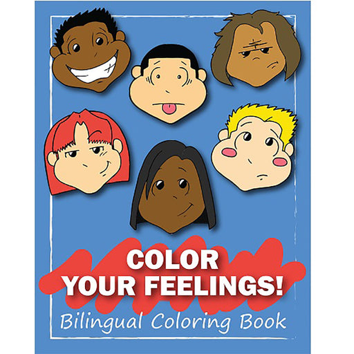Color Your Feelings! Bilingual Coloring Book product image