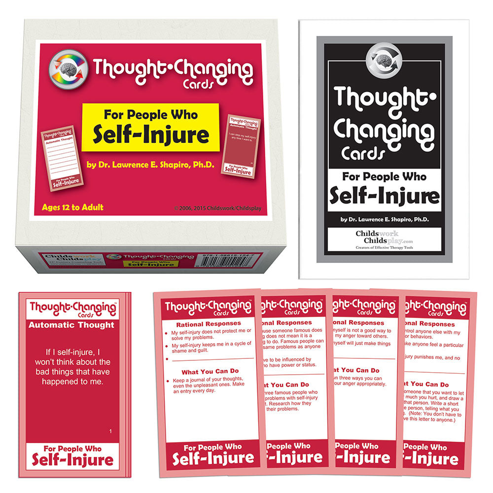 Thought Changing Card Kit for People Who Self-Injure