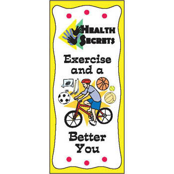 Health Secrets Pamphlet: Exercise and a Better You 25 pack product image