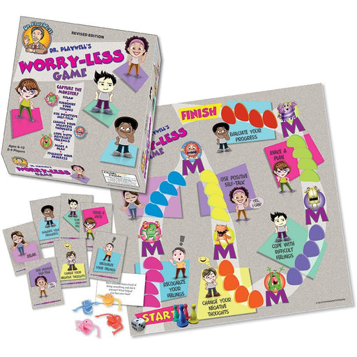 Dr. Playwell's Worry-Less Board Game product image
