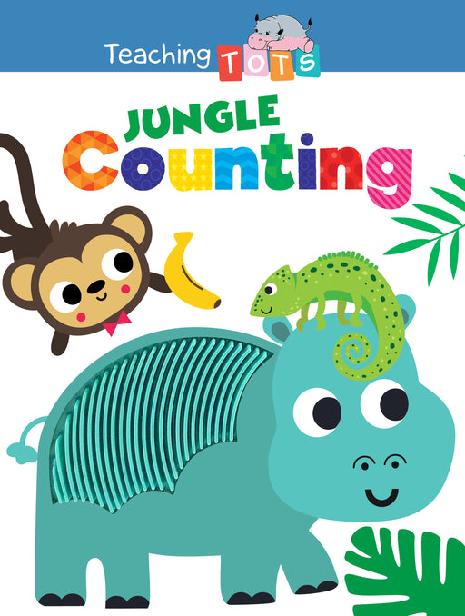 Jungle Counting Sensory Silicone Touch and Feel Board Books