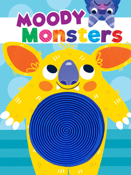 Moody Monsters Sensory Sensory Silicone Touch and Feel Board Books
