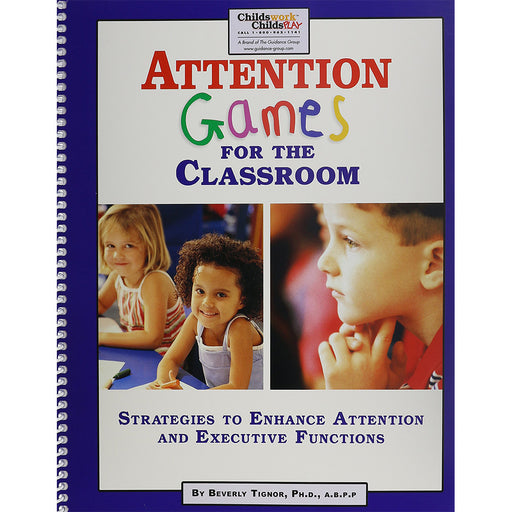 Attention Games for the Classroom product image