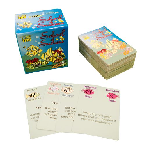 Play 2 Learn Go Fish: School of Success Card Game