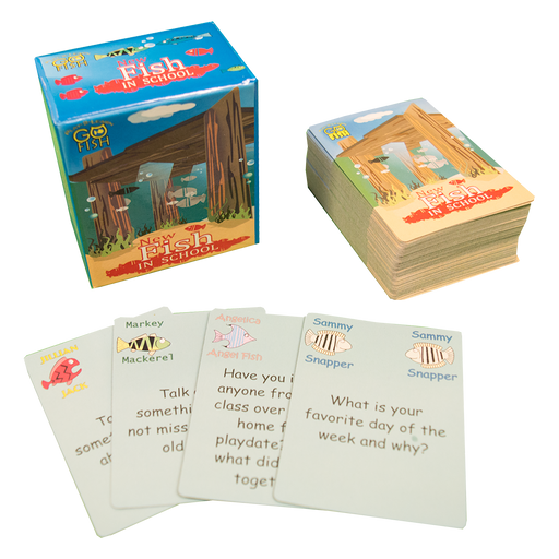 Play 2 Learn Go Fish: New Fish in School Card Game