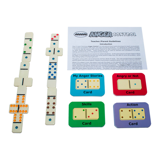 Play 2 Learn Dominoes on Anger Control Game